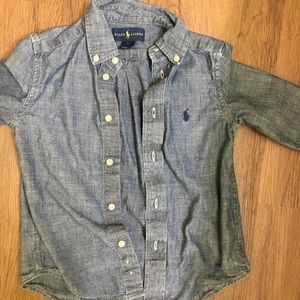 Ralph Lauren long sleeve denim